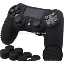 Étui de protection en silicone souple pour Sony playstation 4 PS4 pro 1 tb contrôleur couverture avec poignées