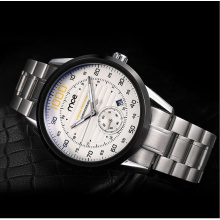 crystal mineral glass display box mechanical wrist watch