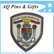 Caliente imitación de fútbol Cloisonne Metal Lapel Pin insignia (badge-089)