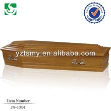 noyer intérieur qualité de cercueil avec poignées sympa