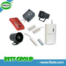 Sirene eletrônica / Piezo alarme / contato magnético Fbes8277