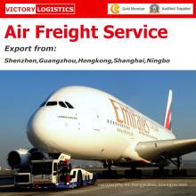Servicio de carga aérea rápida / carga aérea / costo de transporte aéreo desde China a todo el mundo (servicio de carga aérea)