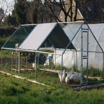 Heksagonal Mesh Chicken Cage House