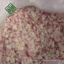 agv para linha de legumes congelados alho fresco congelado