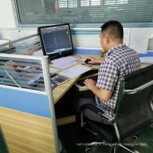 Département d'ingénierie des pièces en tôle de conception CAO