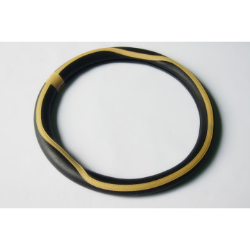 Hot-selling attractive for PU Steering Wheel Cover PU Medium Size  leather steering wheel cover supply to Saint Vincent and the Grenadines Supplier