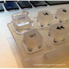 Plastik Schlüsselabdeckung mit Silikon-Gummi-Tastatur