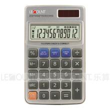 Calculadora de bolsillo de doble dígito de 12 dígitos con cartera de alta calidad (CA3060)