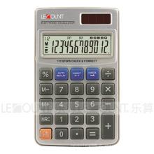 Calculadora de bolso de doze dígitos de dupla com carteira de alta qualidade (CA3060)