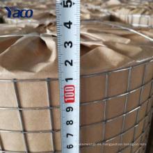 Hengshui 19 calibre 1/2 * 1/2 pulgadas galvanizado en caliente galvanizado rollo de malla de alambre soldado