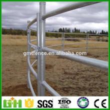 Venta al por mayor de China Mejor precio galvanizado pesados utilizados paneles de ganado, utiliza cabina cerca de paneles