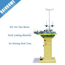 QY-181 Une machine de liaison de chaussette de moteur pour coudre des orteils de chaussette