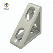 suportes de canto de alumínio