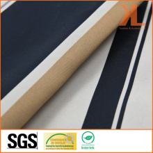 Polyester Wide Width Inherently Fire Retardant Twilled Striped Fireproof Blackout Fabric