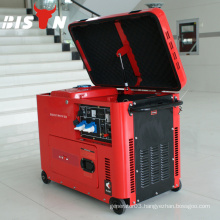 BISON CHINA TAIZHOU 5.5kw Output Power 220V 5.5kva Generator For Sale