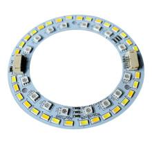 PCB de aluminio redondo de 18w 98mm