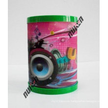 New Product Clear Plastic Holder with 3D Effect