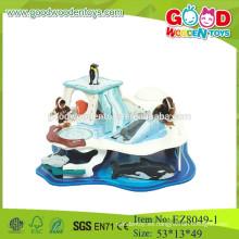 Juguetes de pesca de madera juguetes de pesca de mar pesca de animales marinos