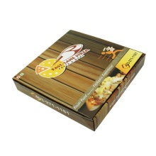 printed pizza paper corrugated carton slice box