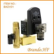 Air Compressor Auto Drain magneetventiel met Timer