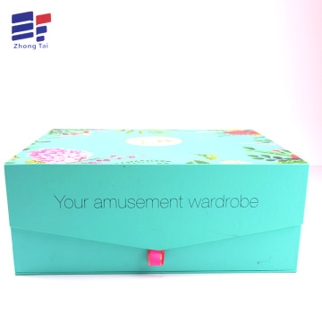 Europe style for Clothing Paper Gift Box Custom paper gift contain box for packaging apparel supply to Indonesia Importers