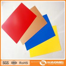 Bobinas de calha de alumínio coloridas 1060 1100 1050