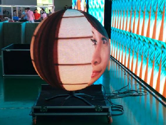 Grado de color completo P3 Led Video Ball Screen