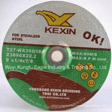 Schleifscheibe für rostfreien Stahl