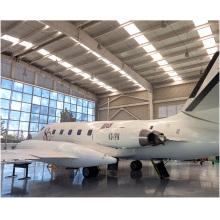Prefabricated Steel Structure Construction Auto Car Aircraft Maintenance Hangar