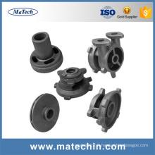 Pièces de pompe à eau de fonte ductile adaptées aux besoins du client par fonderie