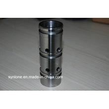 Axe d'acier inoxydable de piston hydraulique de précision