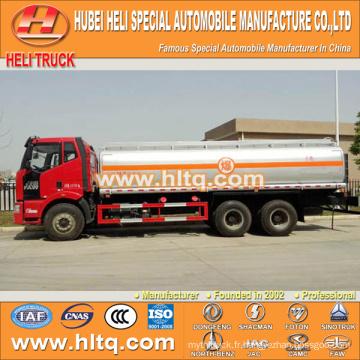 FAW 6X4 camion citerne à huile 30000L bonne qualité vente chaude à vendre