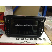 Fabricante Android Car GPS reproductor de DVD para GMC Yukon / Acadia / Sierra con GPS / Bluetooth / Radio / SWC / Virtual 6CD / 3G / ATV / iPod