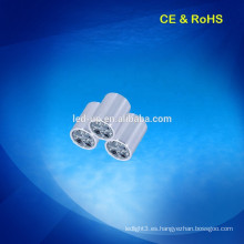 AC 110V-240V 55mm decoración montada en superficie LED Spot luces 4w con super brillante
