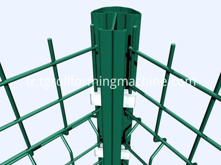 Fence Post Forming Machine