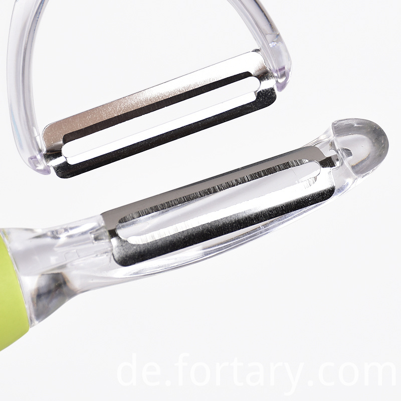 transparent potato peeler