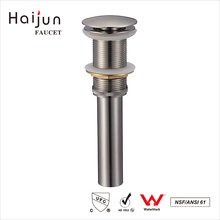 Haijun Factory Direct Sale cUPC Bathroom Water Pop Up Drain Waste