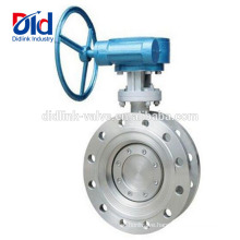 Control 10 Inch Wafer Installation Gear Operated Hp 6 Stainless Steel Flanged End Butterfly Valve Nibco