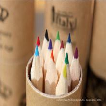 Crayon de couleur de la promotion 12pcs de 3.5 pouces avec le taille-crayon