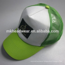 hot sale five panels trucker caps with plastic back closure