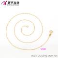 42614- Xuping Design Simples Mulheres Moda Ouro Fino Cadeia Talão Colares