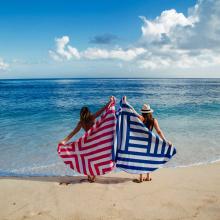 custom mandala round beach towel cotton
