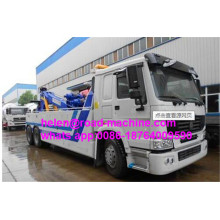 Camión grúa de auxilio Camión de recuperación de 10 toneladas