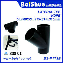 PVC 45 Degree Pipe Fitting Lateral Tee