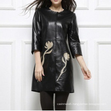 Woman Genuine Soft Thin Leather Jacket