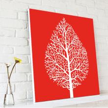 Lucky Tree Холст стены искусства печать Dropship