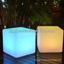 Rechargeable Outdoor Seat LED Cube