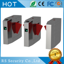 Pedestrian Subway Optical Turnstile Flap Barriers