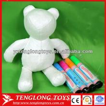 Art und Weisegeschenk für Kinder waschbares Färben gefülltes Spielzeug
