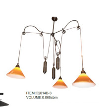 Speicial Design Yellow Hanging Pendant Lamp (C2014B-3)